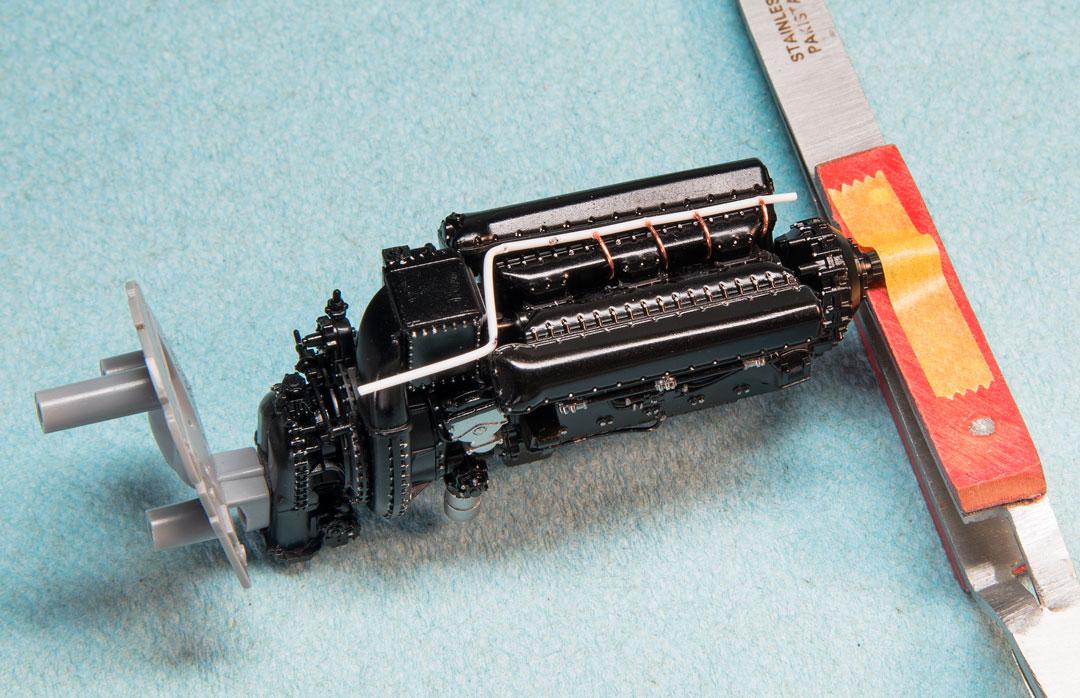 ignition rail