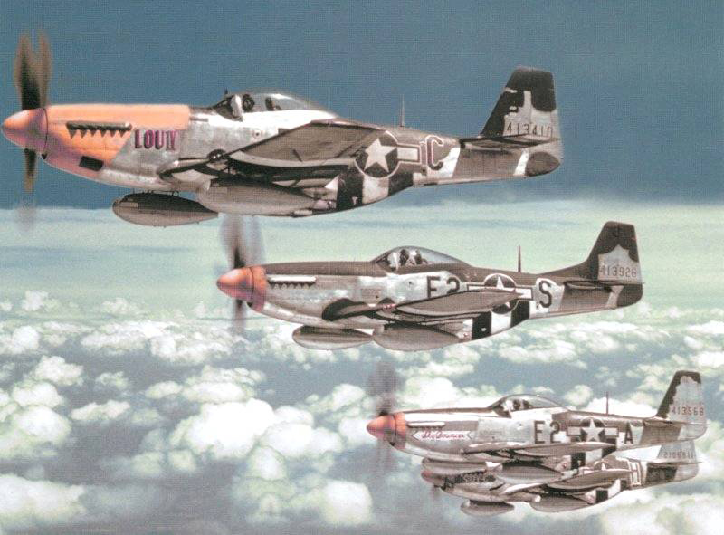 P-51D's 375th Fighter Squadron