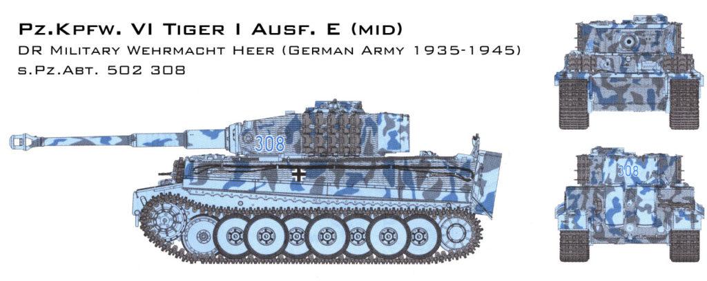 s.PZ.Abt 502 308 Tiger