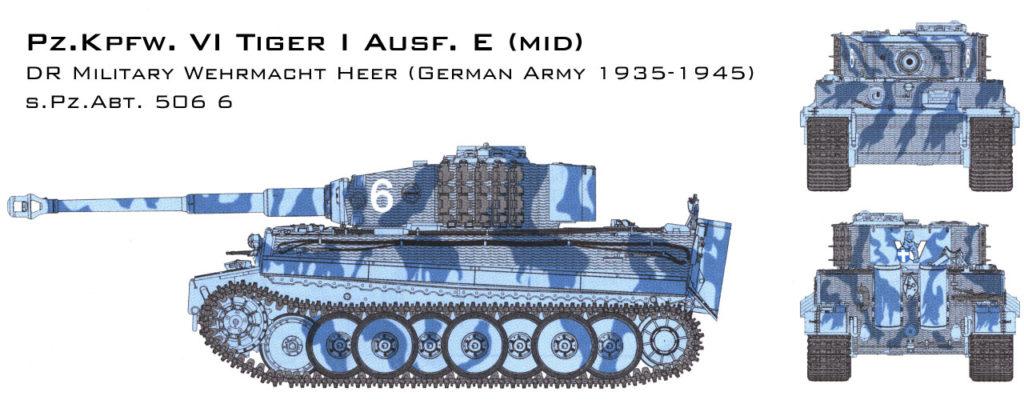 s.PZ.Abt 506 6 Tiger