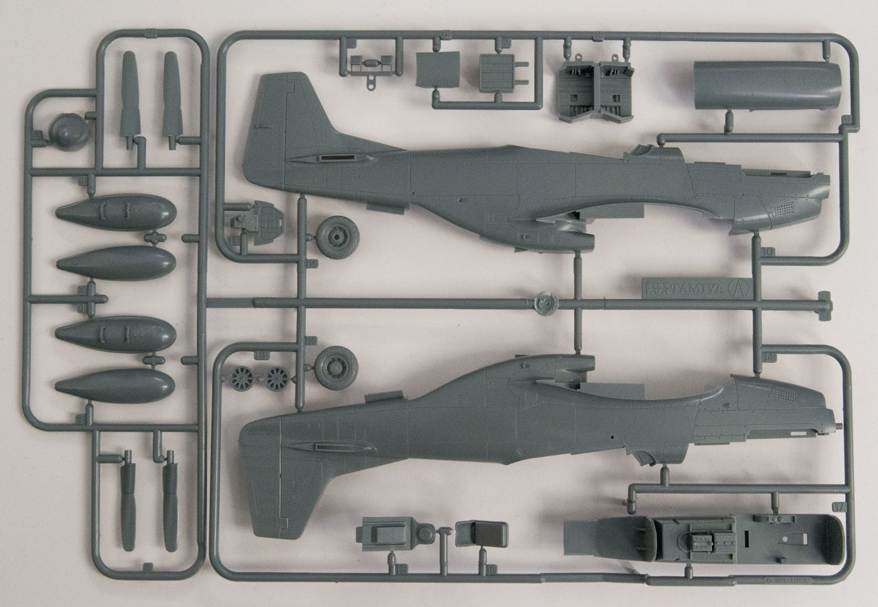 Tamiya P-51 1/48 Scale Spruce
