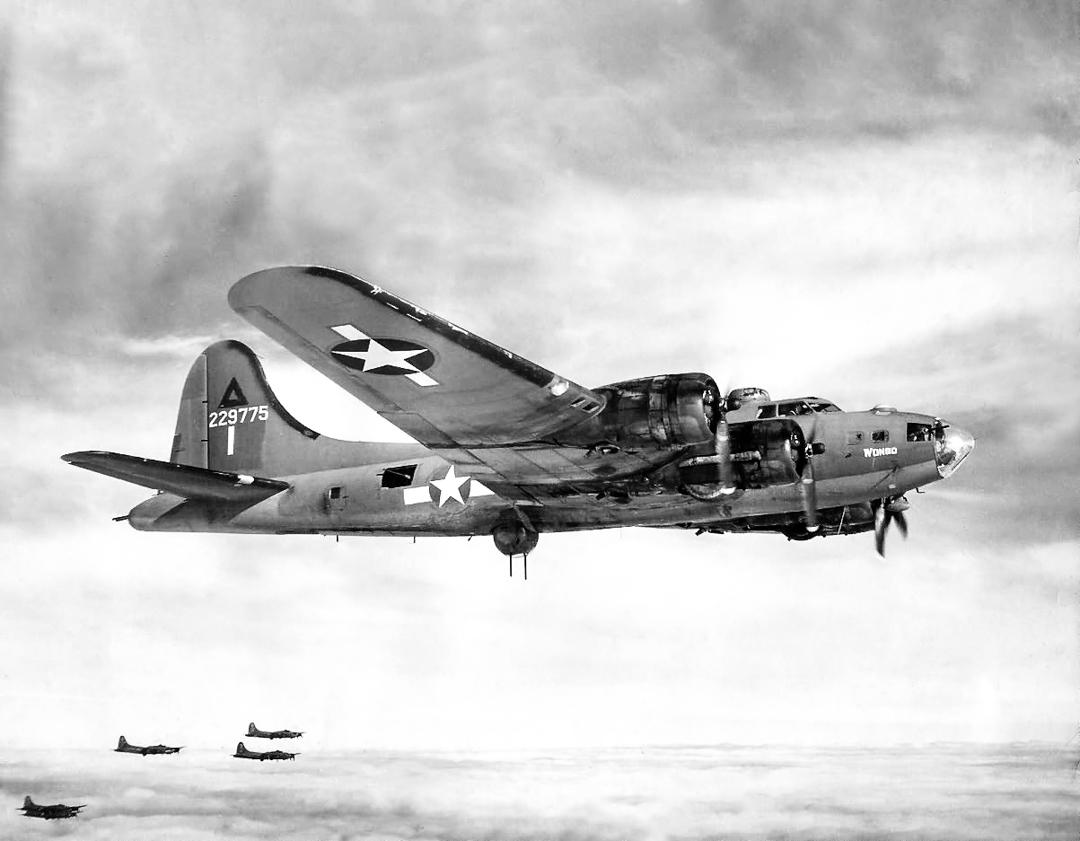 B-17F – Wongo – 42-29775