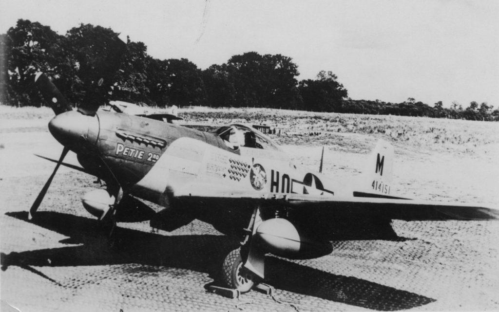 """P-51 Mustang """"Petie 2nd"""""""