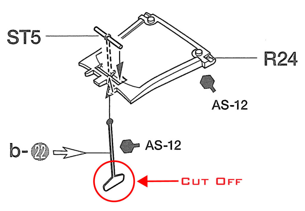 Tamiya P-51 Radiator Scoop Instructions