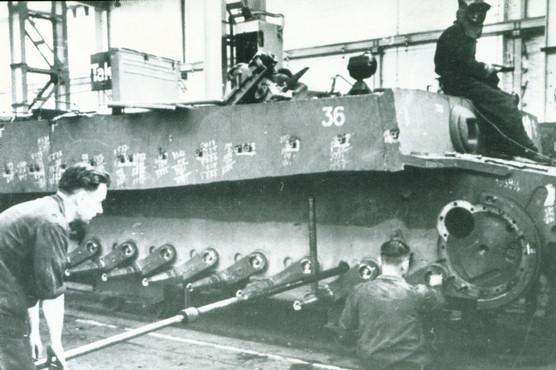 Tiger Tank Torsion Bars