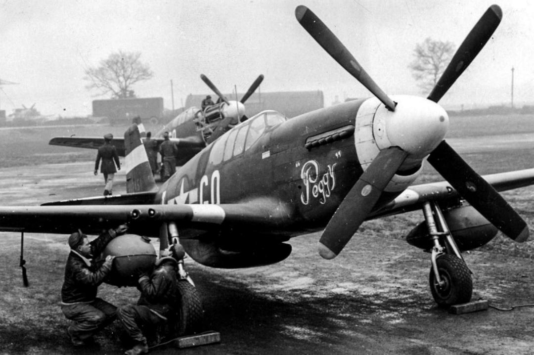 P-51B - Peggy - 43-12451