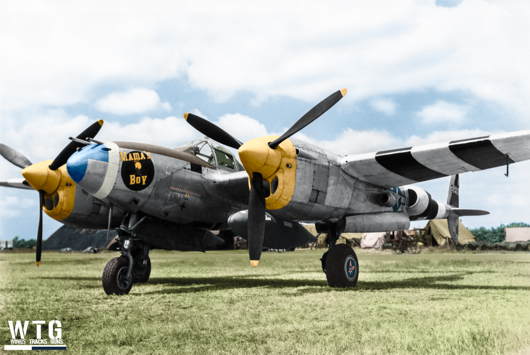 P-38 - Mama's Boy - 43-28301