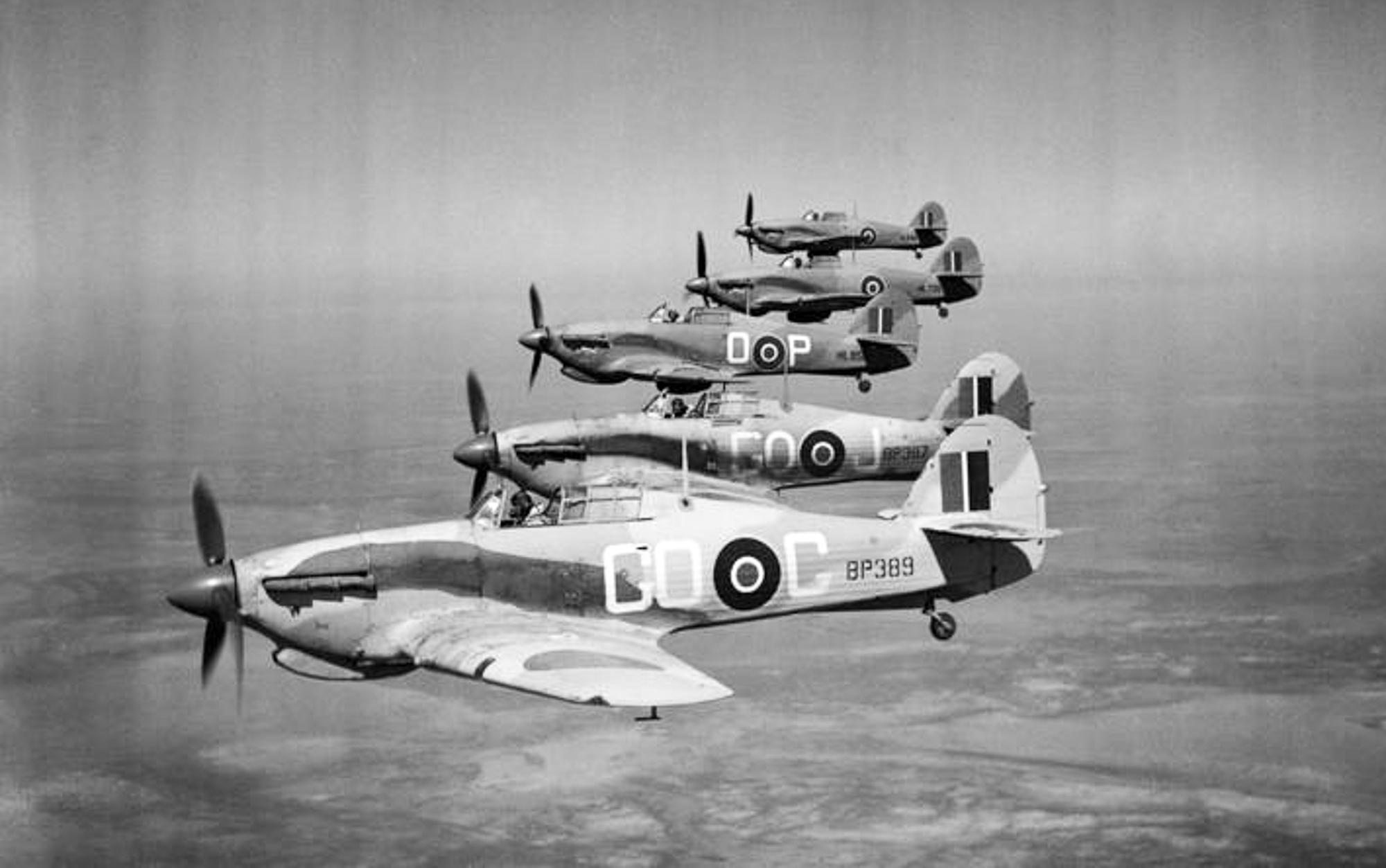 Hawker Hurricane - No. 94 Squadron