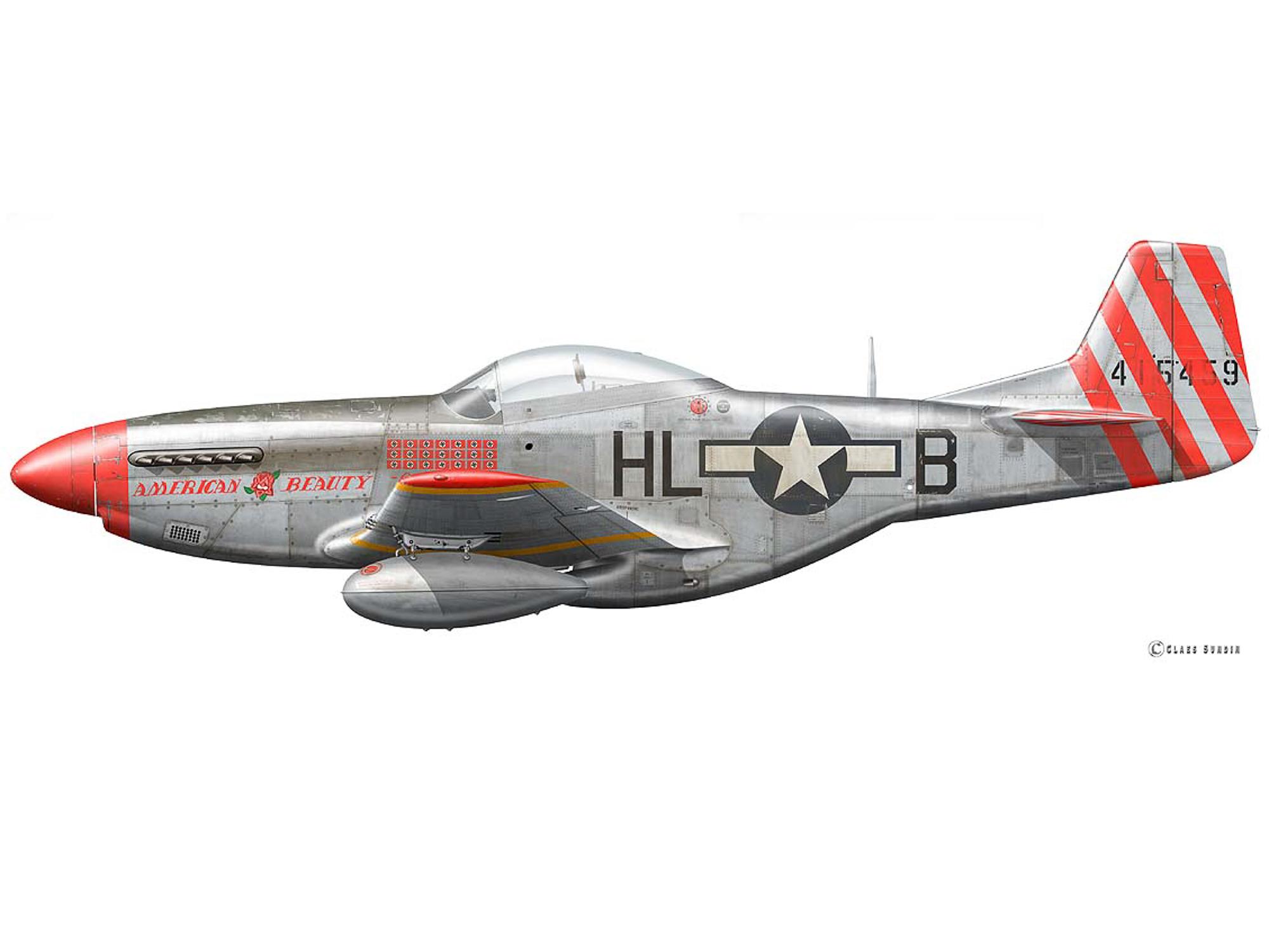 P-51D – American Beauty – 44-15459