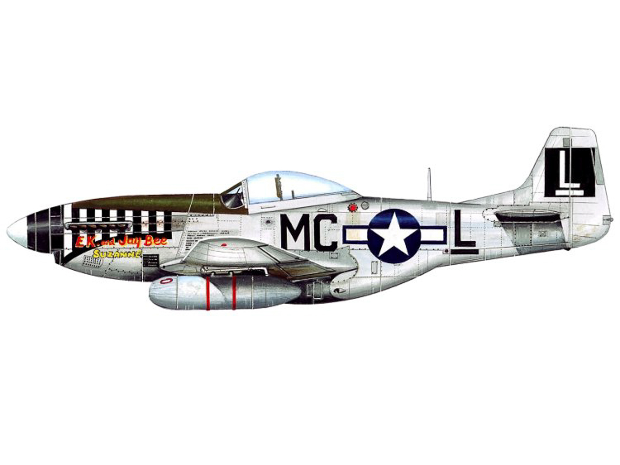 P-51D – Jay Bee/Suzanne – 44-15198