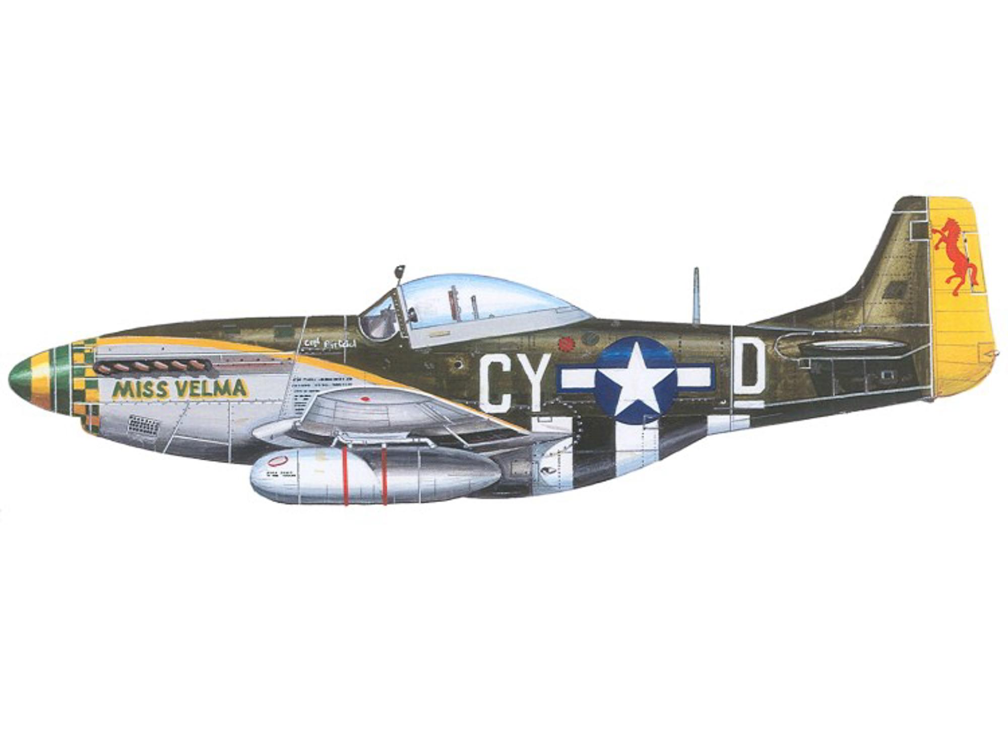 P-51D – Miss Velma – 44-72296