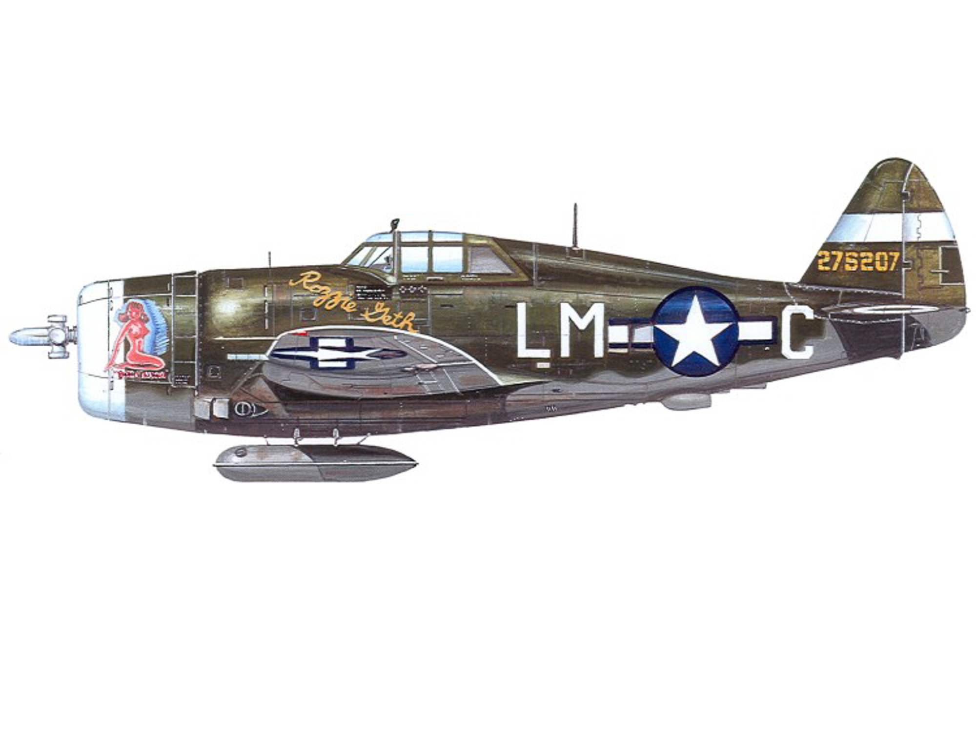P-47D – Boche Buster / Rozzie Geth - 42-75207