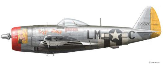 P-47D – Miss Fire / Rozzie Geth II - 42-26628