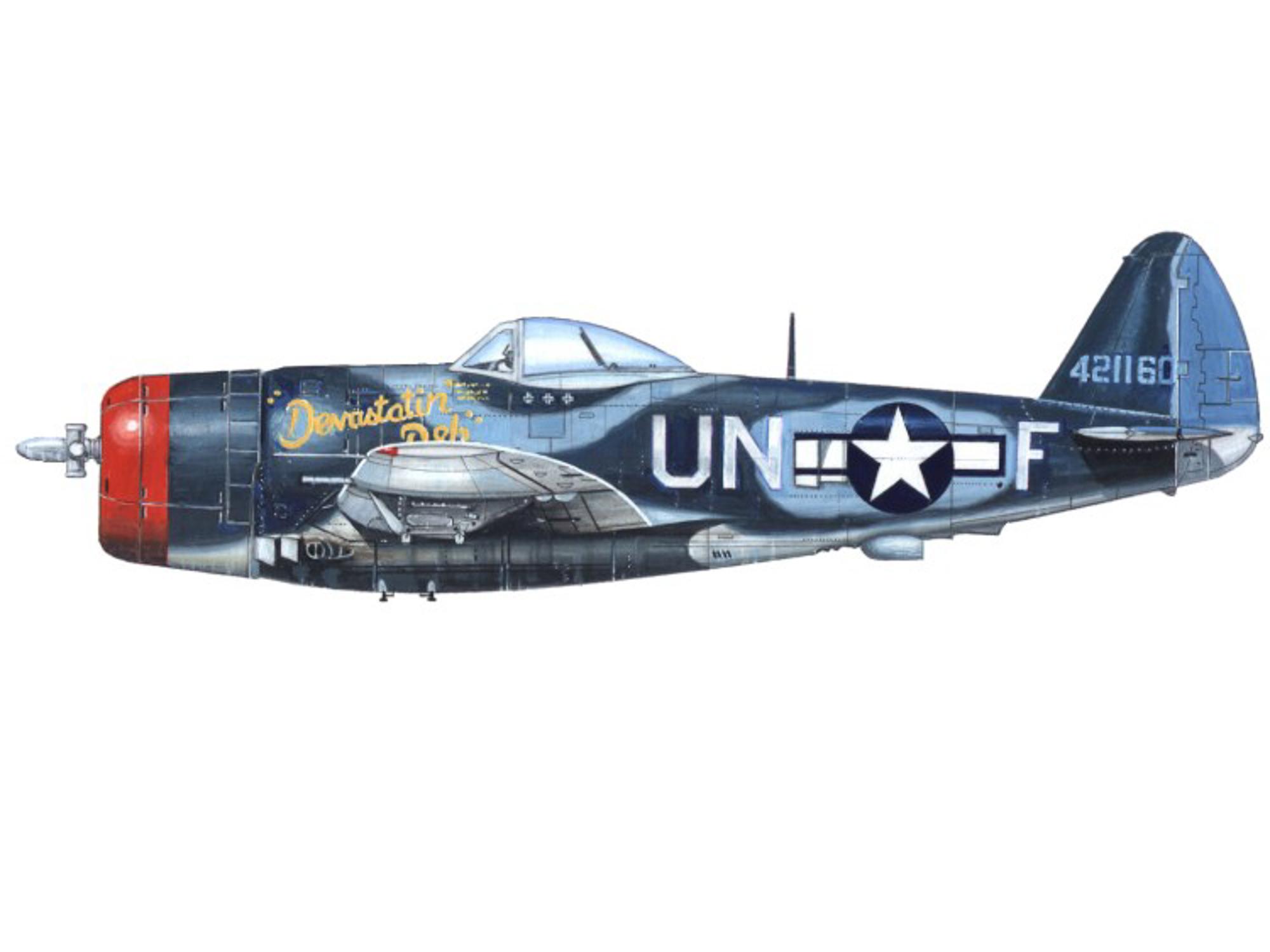 P-47M – Devastatin' Deb - 44-21160