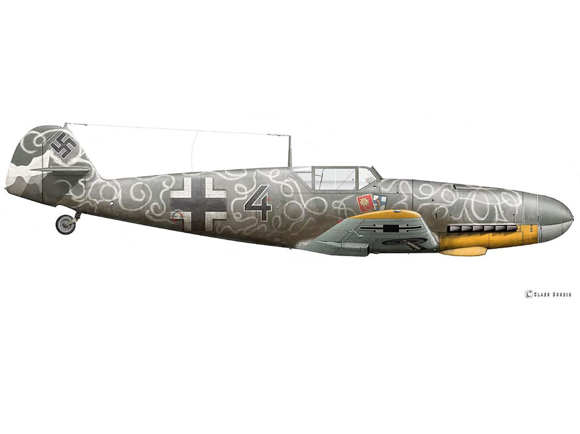 Bf 109F-4 - Black 4 - W.Nr. 13169