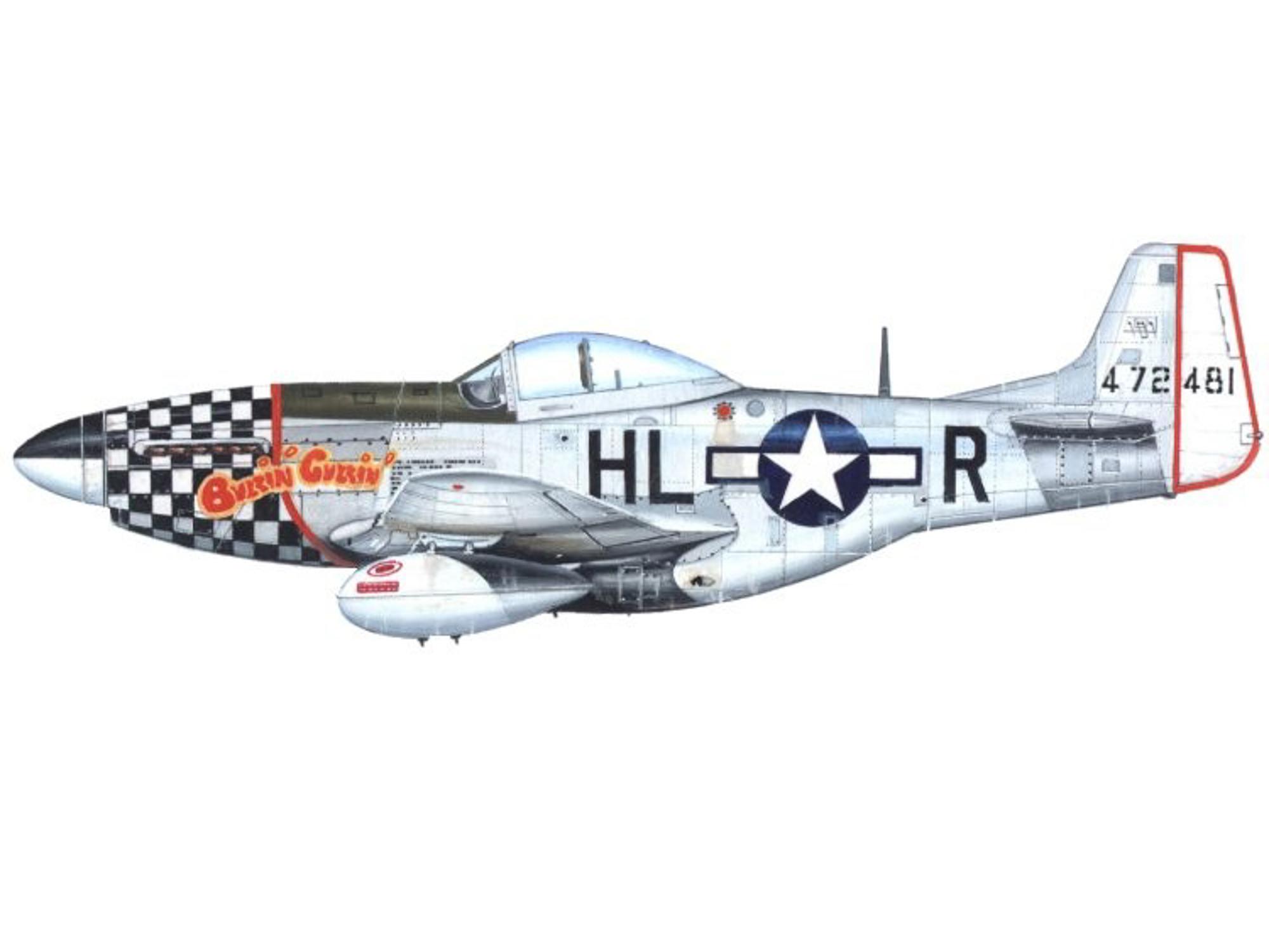 P-51D – Buzzin Cuzzin – 44-72481