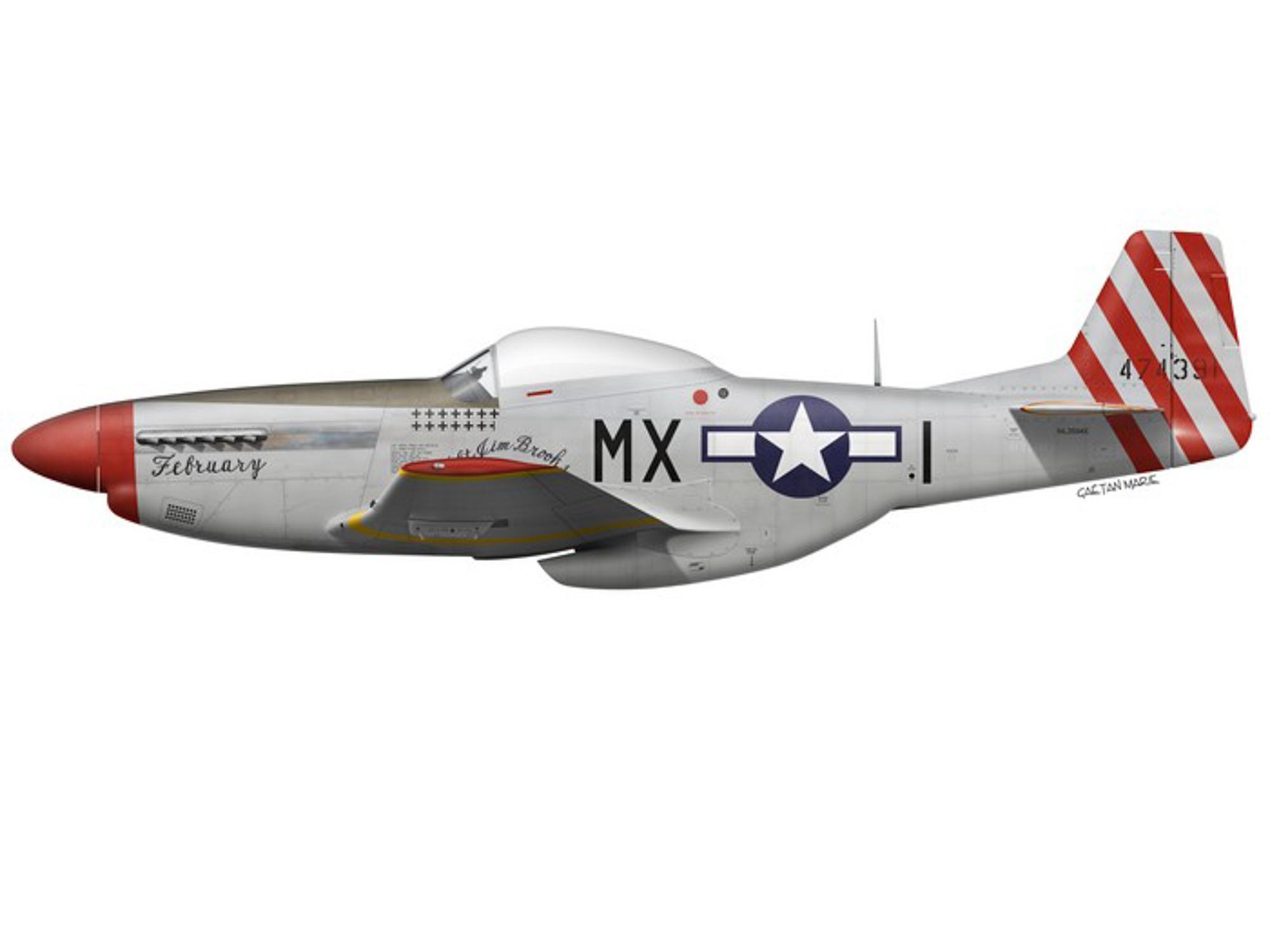 P-51D – February – 44-74391
