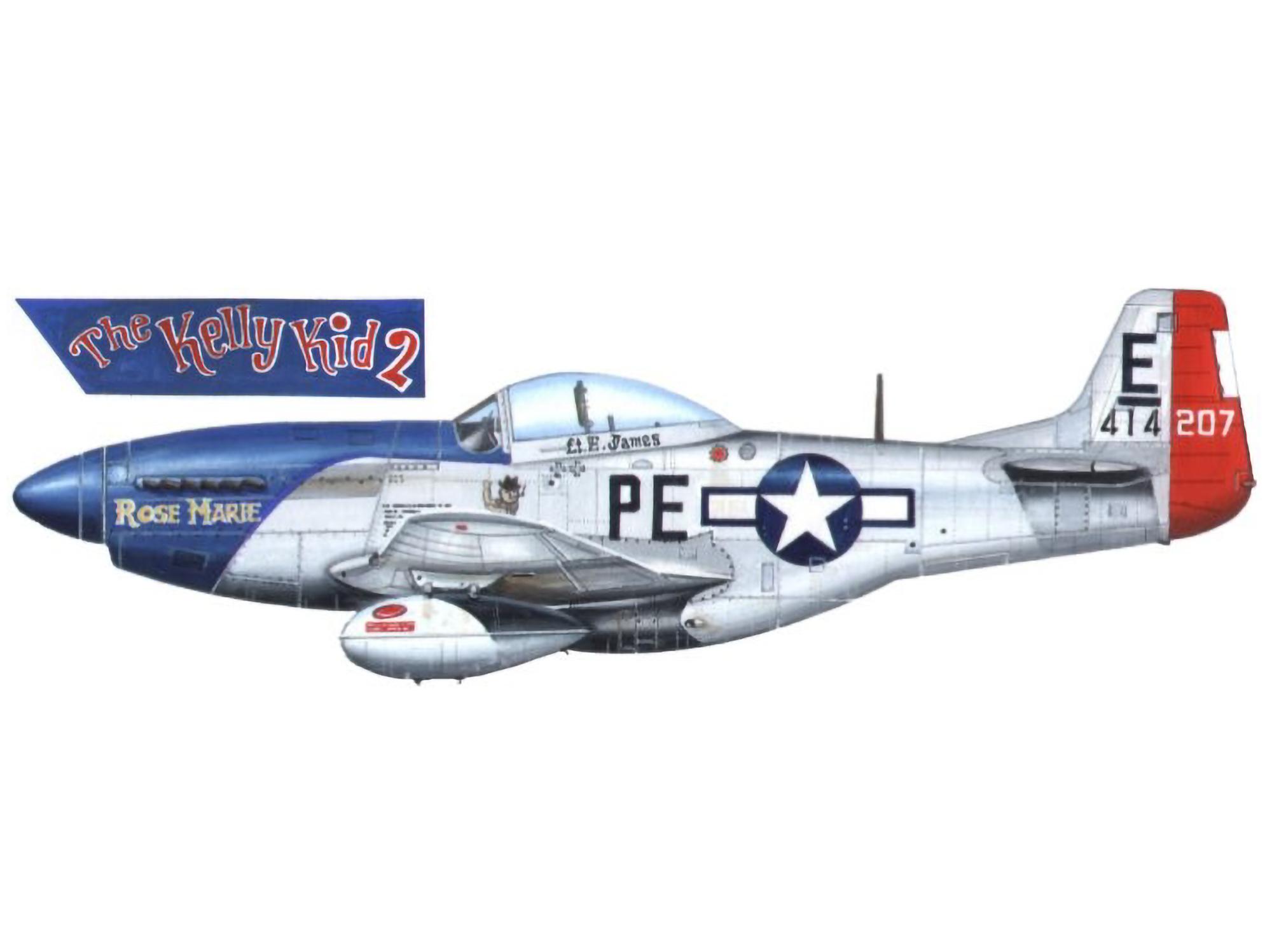 P-51D – Rose Marie – 44-14207