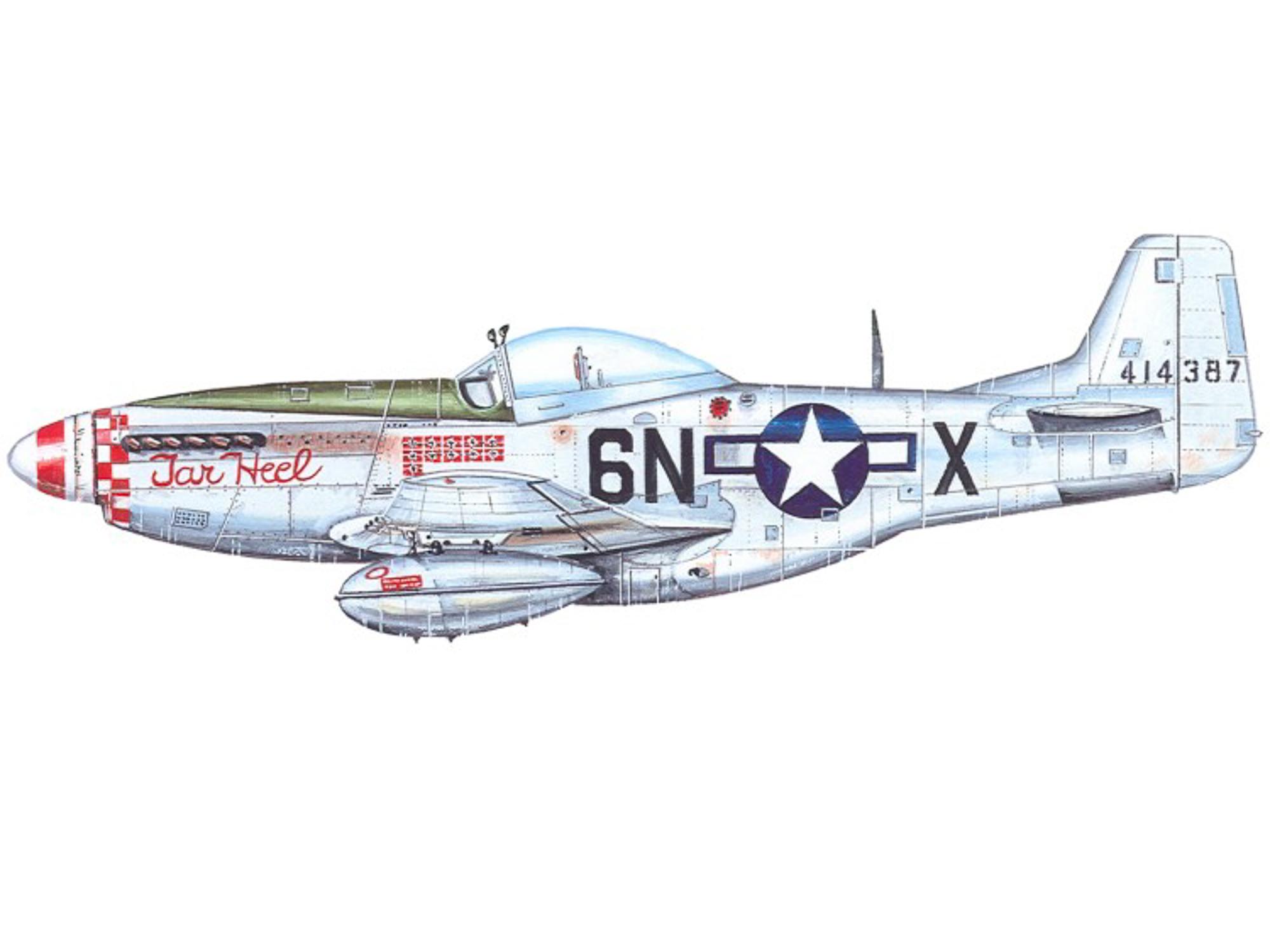 P-51D – Tar Heel - 44-14387