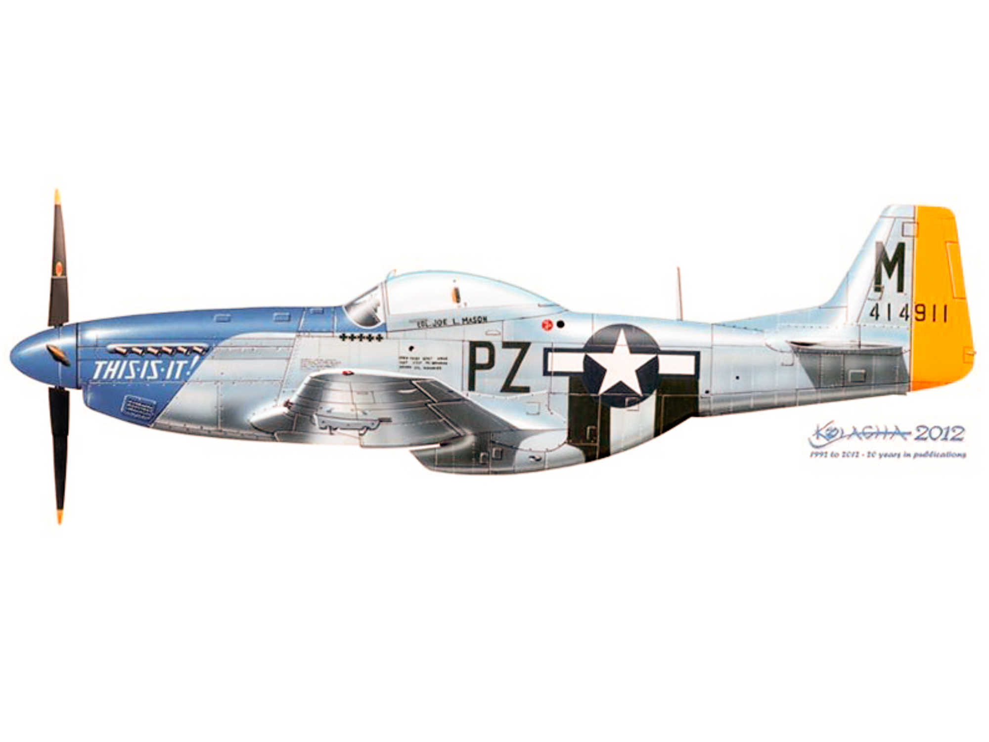 P-51D – This Is It – 44-14911