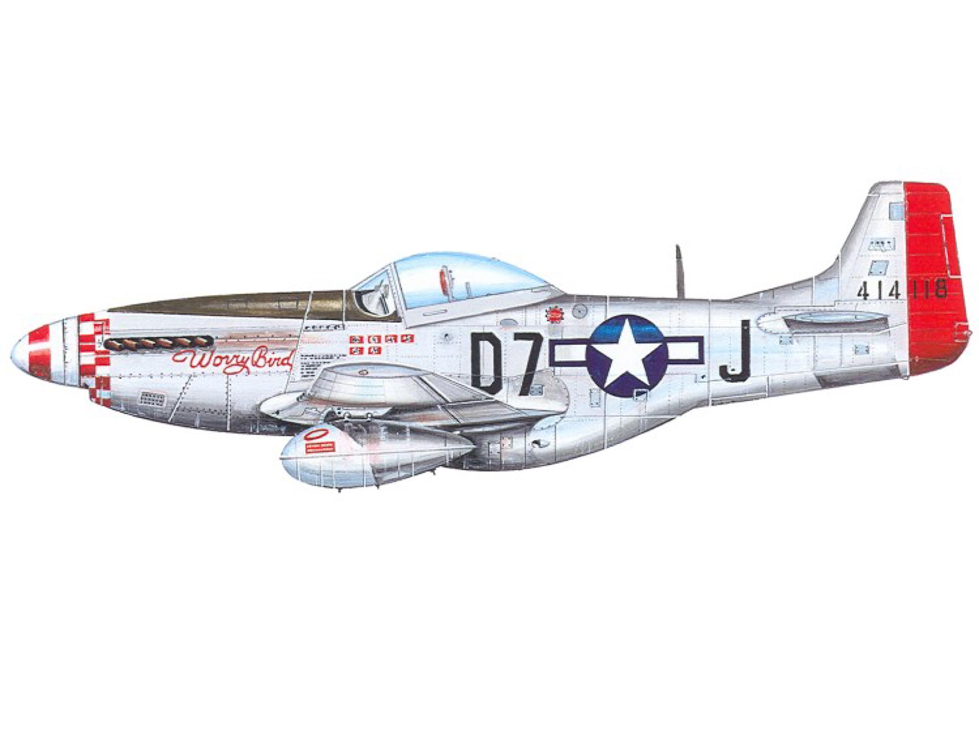 P-51D – Worry Bird – 44-14118