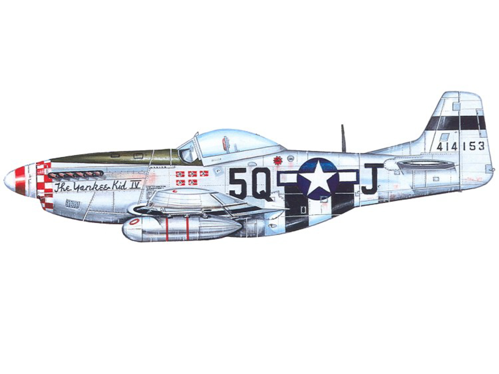 P-51D – The Yankee Kid IV - 44-14153
