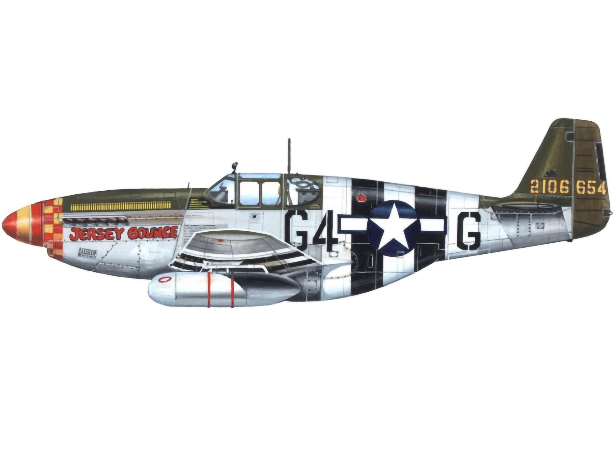 P-51B – Jersey Bounce – 42-106654