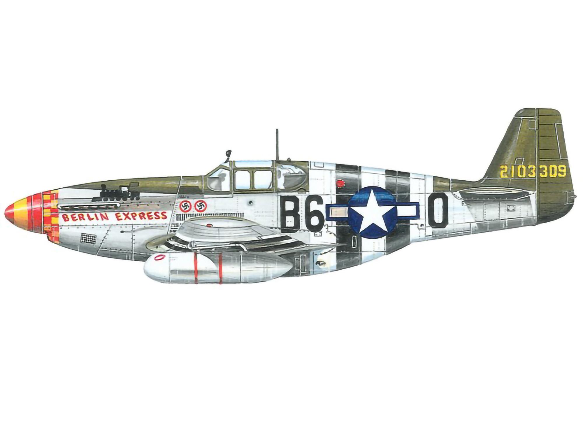 P-51C – Berlin Express – 42-103309