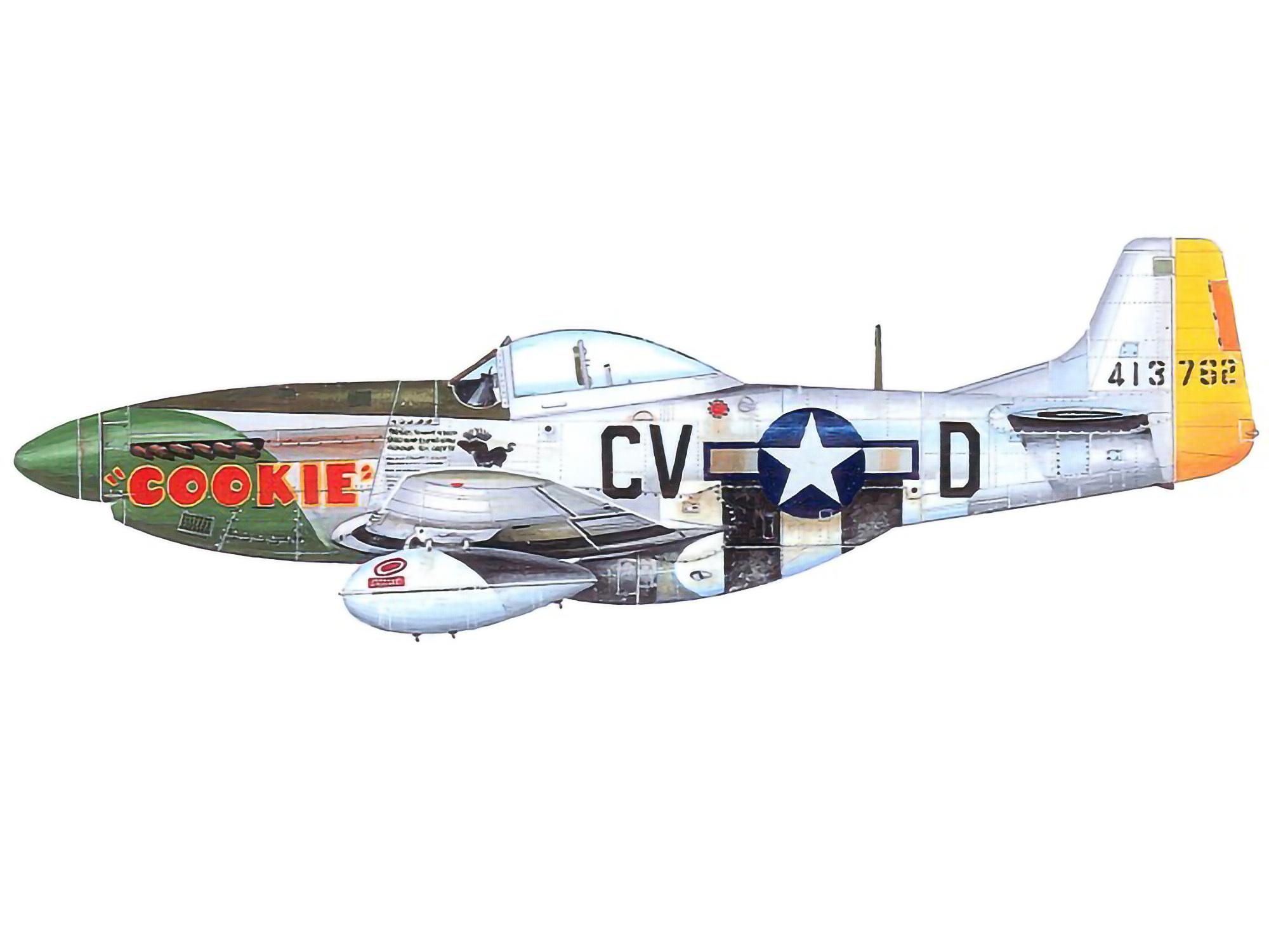 P-51D – Cookie – 44-13762