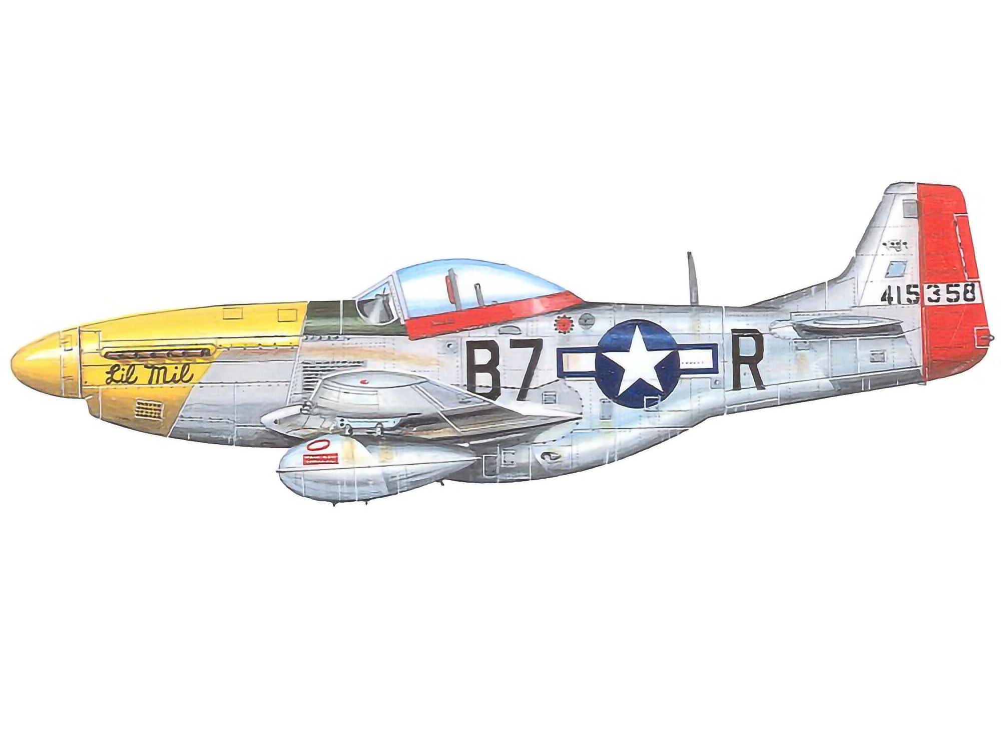 P-51D – Lil Mil – 44-15358