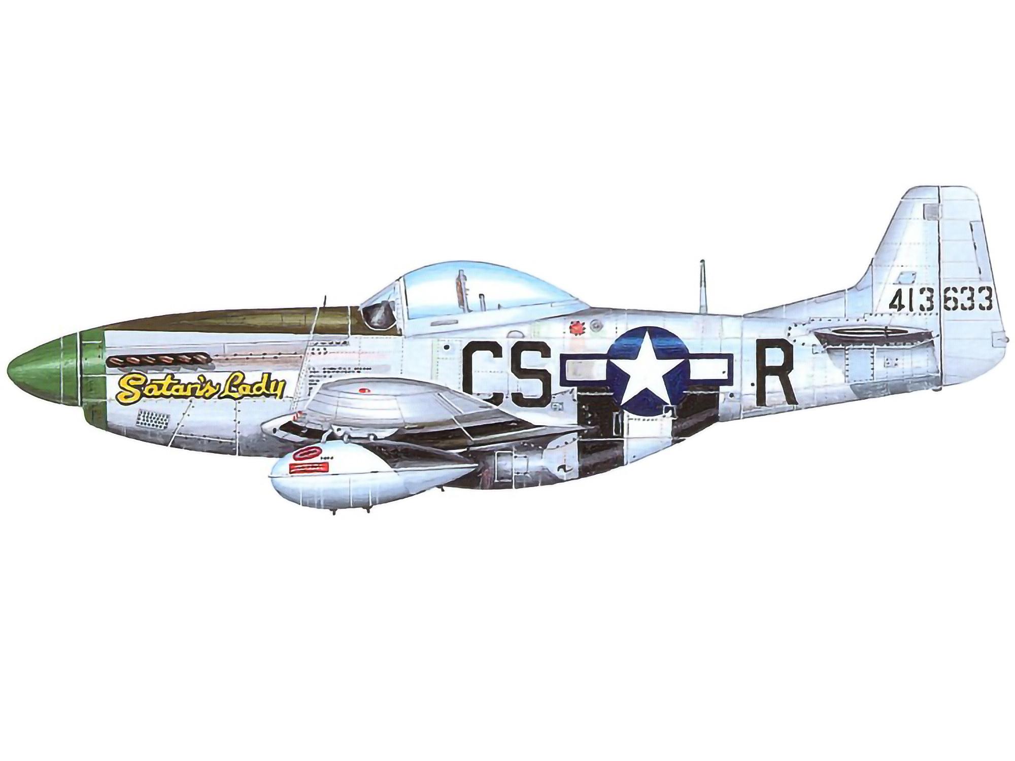 P-51D – Satan's Lady – 44-13633
