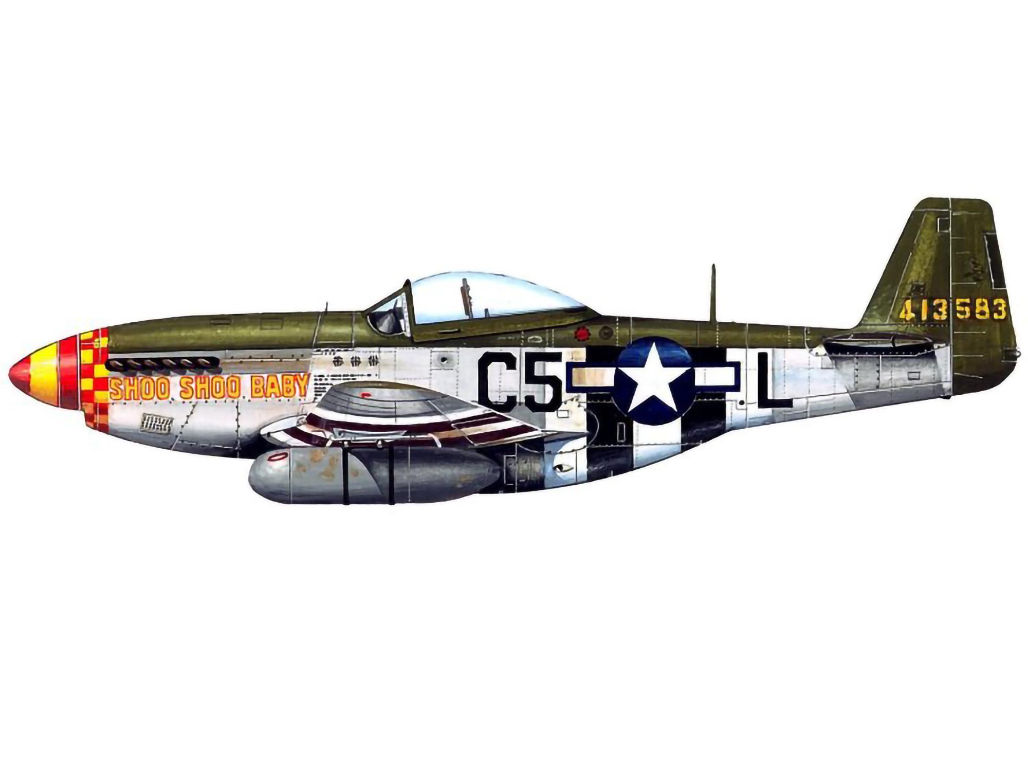 P-51D – Shoo Shoo Baby – 44-13583